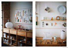 Jasper Morrison's work space