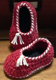 Quick and Easy Baby Slippers Shoes Crochet by AdorishOriginals