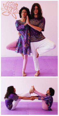 ALINE E LUCAS - Sandrananda Casa de Yoga - Jaraguá do Sul - SC- Brasil