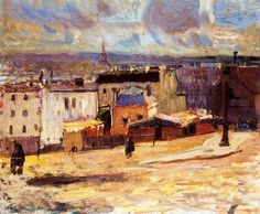 Dufy, Raoul (1877-1953) The View of Paris from the Monmarte