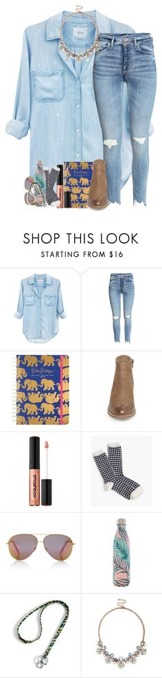 """put some respect on my name & read d"" by legitmaddywill ❤ liked on Polyvore featuring Rails, Lilly Pulitzer, Steve Madden, Smashbox, J.Crew, Victoria, Victoria Beckham, S'well, Vera Bradley and Sole Society"