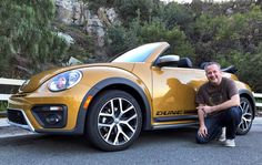 "Having way too much fun with my ""Duke"" #Beetle this week. Thanks Volkswagen USA! Review soon at chrisduke.tv/category/dukesdrive #DukesDrive #vwbeetle #vwbug"