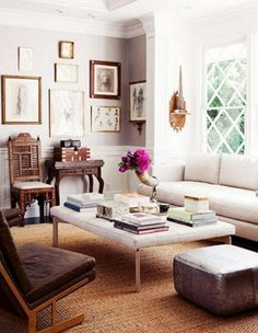 One Of My Most Favorite Rooms Ever. The Window, The Wall Color, The Trim.  The Gallery Wall. Decor Ideas ...