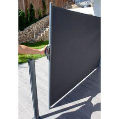 Brise vue rétractable Liso L.300 x h.160 cm - CASTORAMA