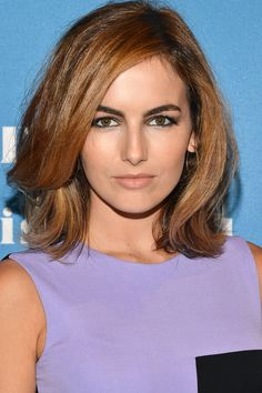 Get Camilla Belle's slept-in eyeliner look with tips from today's beauty secret.