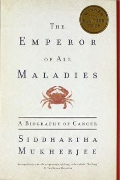 The Emperor of All Maladies: A Biography of Cancer by Siddhartha Mukherjee http://smile.amazon.com/dp/1439170916/ref=cm_sw_r_pi_dp_J53Nub18P206Q