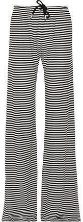 Max Mara Striped Jersey Wide-Leg Pants