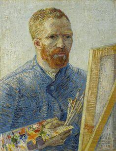 Zelfportret als schilder, 1887 - 1888, Vincent van Gogh, Van Gogh Museum, Amsterdam (Vincent van Gogh Stichting)