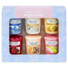 469de211c4a Lovely Yankee Pink 6 votive set from our Candles & Home Fragrance range  - Tesco