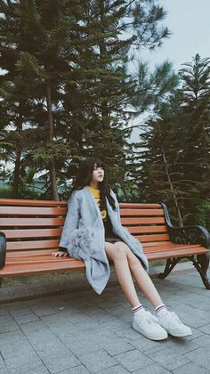 #chi Outdoor Furniture, Outdoor Decor, Ulzzang, Avatar, Park, Outfit, Parks, Clothing, Clothes