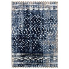 Abercrombie Blue Rug World Menagerie Rug size: Rectangle 200 x Turquoise Rug, Teal Rug, Gold Rug, Area Rugs For Sale, Rug Sale, Blue Outdoor Rug, Outdoor Rugs, Dark Blue Rug, Weaving