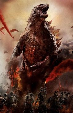 Godzilla is a gigantic mutant dinosaur, transformed from the fallout of an atomic bomb test. As the Godzilla series continued, the great beast was developed as a character, and has become a savior of the earth, saving the world from other monsters (usually from Outer Space) like King Ghidorah, Gigan and MechaGodzilla, along with other monsters like Rodan and Mothra.