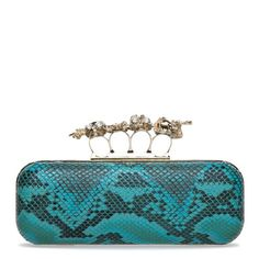 I absolutely love this clutch.  It's a purse and a weapon if someone ever attacks you.