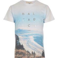 Blue Baleariac 96 print t-shirt £14.40