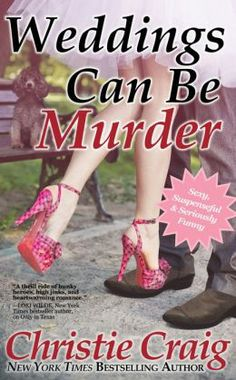 Weddings Can Be Murder by Christie Craig (6/3/2104) - FREE on Nook. Cute and quick read. A rom-com murder mystery, heavier on the rom-com. If you like swearing or reading about sexual liaisons, all the while a murderer is out on the loose killing brides before they say I do. Cute, predictable, and fun to read.