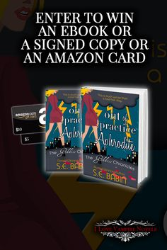 Win a Signed Paperback, eBooks or up to $10 in Amazon Gift Cards from Bestselling Author S.E. Babin