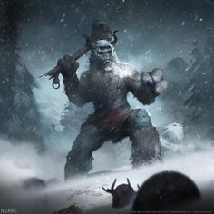 Frost Giant Skyrim / The Elder Scrolls Legends Artwork The Elder Scrolls V: Skyrim is an open world action role-playing video game developed by Bethesda Game Studios and published by Bethesda Softworks. The Elder Scrolls, Elder Scrolls Skyrim, Elder Scrolls Races, Elder Scrolls Online, Fantasy Concept Art, Dark Fantasy, Fantasy Art, Fantasy Beasts, Final Fantasy