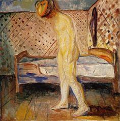 Edvard Munch - Weinendes Mädchen, 1908