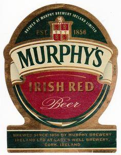 Murphy's Irish Red, Irish Ale 5,0% ABV (Heineken Nederland, Países Bajos) #label
