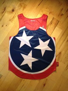 """Tennessee """"VolunteerState"""" tank top. Not as cool as my #FrocketFriday Frat Collection tank though!"""