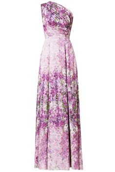 Rent Purple Orchid Gown by Badgley Mischka for $150 only at Rent the Runway.