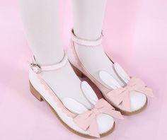 EU 32-44 Lolita Cutie Bunny Bowknot Princess Shoes SP153064 Cute Shoes For Teens, Moon Clothing, Kawaii Bunny, Princess Shoes, Shoe Size Conversion, Cosplay Outfits, Shoe Size Chart, Kawaii Fashion, Online Clothing Stores