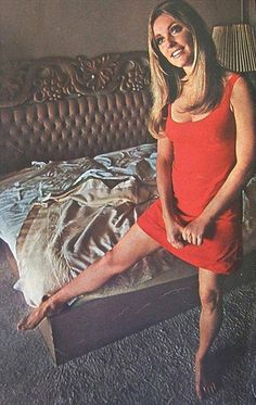 Sharon Tate, Valley of the Dolls, 1967 That was a bit controversial for the times, but
