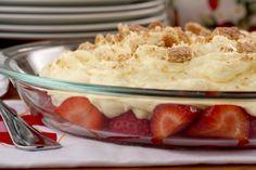 Upside Down Strawberry Cheesecake | MrFood.com