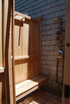 Outdoor Showers are our specialty. Our Cape Cod Outdoor