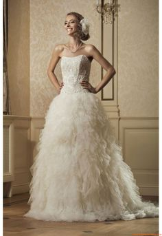 Trouwjurken Annais Bridal Nefre LT 2014 Tulle Wedding c3f1ea284b