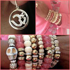 AUM by La Chance and La Chance bracelets