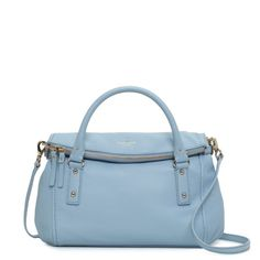 Kate Spade cobble hill small leslie $348 (I will always think her bags are totally overpriced but this is lovely.)