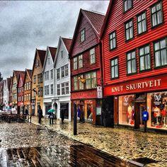 Bergen in Hordaland, Norway