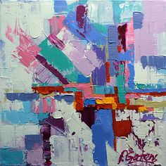 Map To Candyland by Pamela Gatens Acrylic ~ 20 x 20