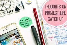 Project Life Catch up: what worked and what didn't || olyaschmidt.com