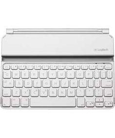 Logitech iPad Mini Keyboard Case - White.