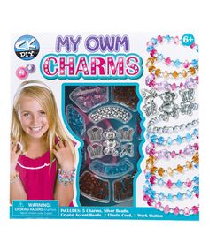 Love this My Own Charms Set on #zulily! #zulilyfinds