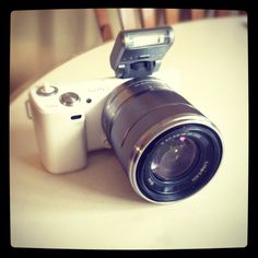 My new Sony NEX-5N!! In love :)