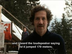 The Great Ecstasy of Woodcarver Steiner gives us a glimpse into the psychology of woodcarver and Swiss champion ski-jumper, Walter Steiner. It's a45 min TV documentary from 1974, directed by Werner Herzog. The film starts with slow motion footage of…
