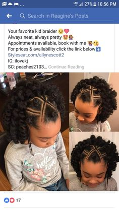 251 Best Kids Hairstyles 2018 Images Hairstyle Ideas Black Girls