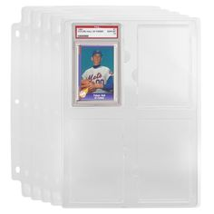 5pk Collectible Card Binder Storage Tray - PSA Graded Cards Binder Storage, Locker Storage, Three Ring Binders, Collectible Cards, Collector Cards, Hole Punch, Card Sizes, Hand Sanitizer, Stationery