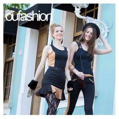 Você já pensou que tons nunca antes combinados podem formar composições inusitadas e cheias de estilo? É o caso do bege e preto, elegantes e fashionistas!  #oufashion #inverno2015 #misturadecores