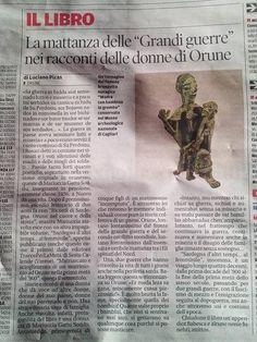 """La mattanza delle """"Grandi guerre"""" nei racconti delle donne di Orune di Luciano Piras"""