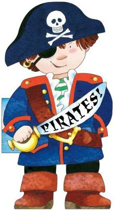 Pirates! (Little People Shape Books) by Giovanni Caviezel