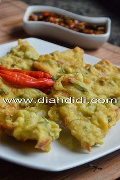 Diah Didi's Kitchen: Mendoan Bumbu Ebi