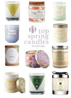 The 11 Best Candles for Spring - Chris Loves Julia
