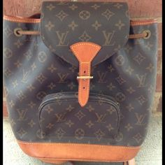 I just added this to my closet on Poshmark: Just reduced! Luis Vuitton MONOGRAM MONTSOURIS. Price: $300 Size: OS