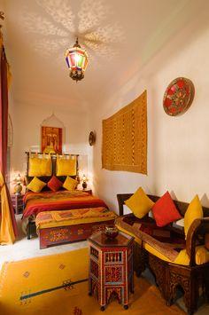 Riad Dar Eliane interior, Marrakech