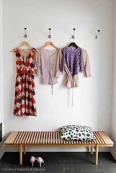 I would put these hooks in my walk-in closet so I can hang what I'm gonna wear tomorrow