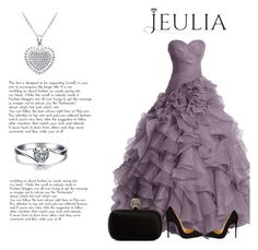 """""""Most Beautiful of design-jeulia"""" by mell-2405 ❤ liked on Polyvore featuring Alexander McQueen, Christian Louboutin, women's clothing, women's fashion, women, female, woman, misses, juniors and Silver"""